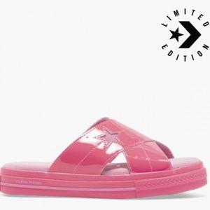 Converse X OPI One Star Sandal Slip Hyper Pink